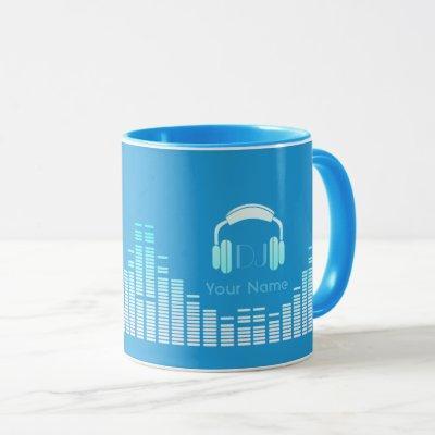 Dj musician mug personalized