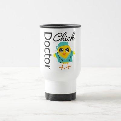 Doctor Chick Travel Mug