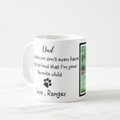 Dog Dad - Funny Father's Day Photo Coffee Mug