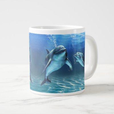 Dolphin Dream Jumbo Mug