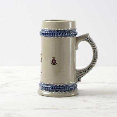 Dominion of British West Florida Royal Military Ac Beer Stein