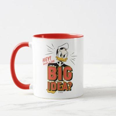 Donald Duck   What's The Big Idea? Mug