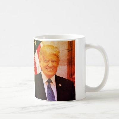 Donald J. Trump, 45th President of USA Coffee Mug