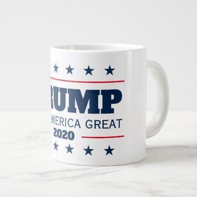 Donald Trump 2020 election Keep America Great big Giant Coffee Mug