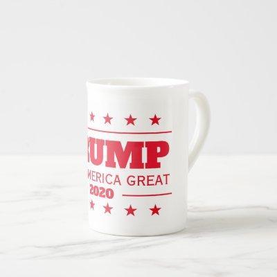 Donald Trump 2020 election Keep America Great Bone China Mug