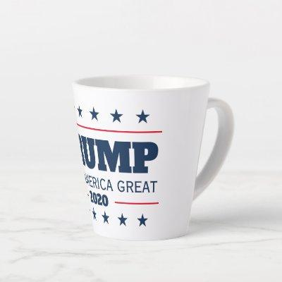 Donald Trump 2020 election Keep America Great Latte Mug