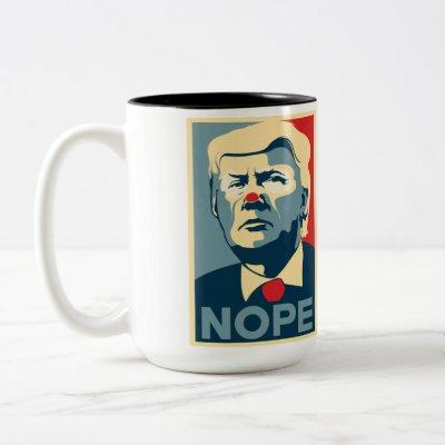 "Donald Trump ""NOPE"" Coffee Mug"