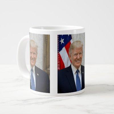 Donald Trump official portrait Giant Coffee Mug