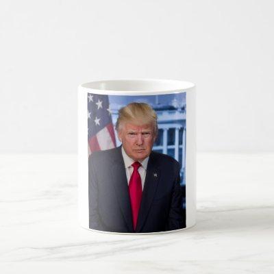 Donald Trump Official Presidential Portrait Coffee Mug