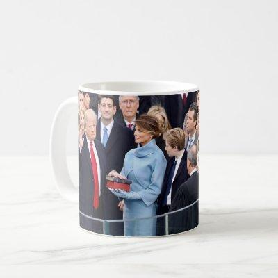 Donald Trump Swearing-In as 45th President Coffee Mug