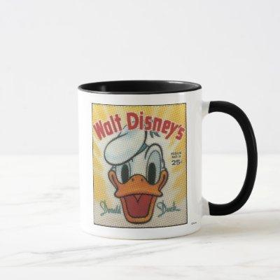 Donald Vintage Comic Cover Mug
