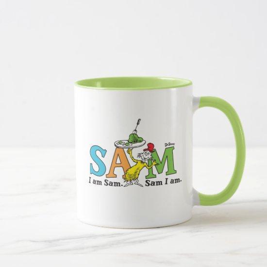 Dr. Seuss   I Am Sam. Sam I Am. Mug