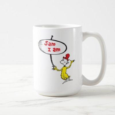 Dr. Seuss | Sam-I-Am Holding Sign Coffee Mug