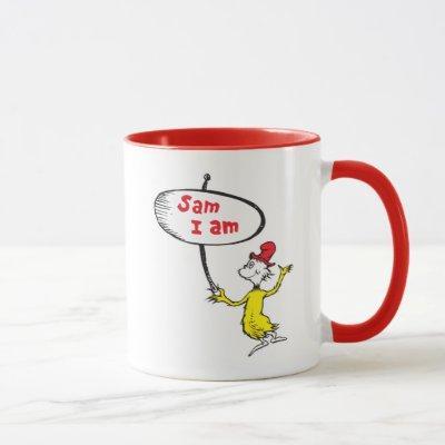 Dr. Seuss | Sam-I-Am Holding Sign Mug