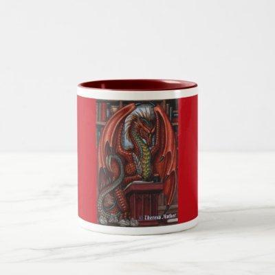 Dragon Writer Mug