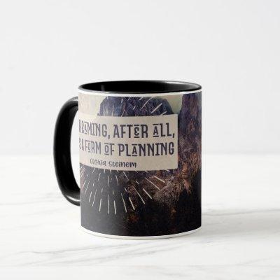 Dreaming - Form of Planning Mug