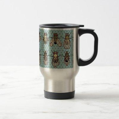 Drosophila mutants travel mug