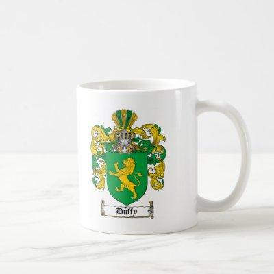 DUFFY FAMILY CREST -  DUFFY COAT OF ARMS COFFEE MUG
