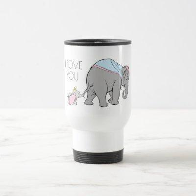Dumbo following his Mom Closely Travel Mug