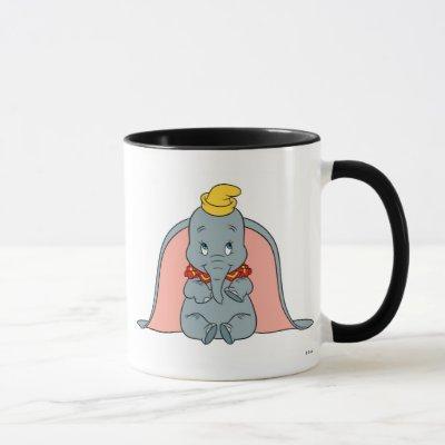 Dumbo Sitting Playfully Mug