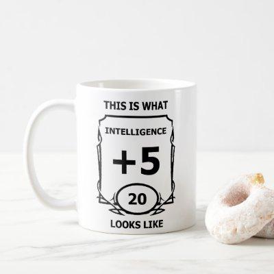 Dungeons and Dragons Intelligence Mug