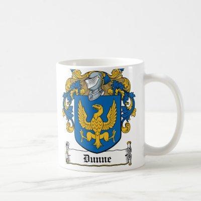 Dunne Family Crest Coffee Mug