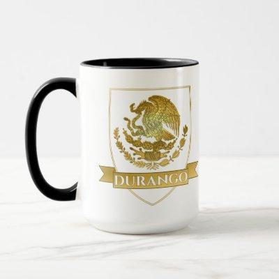 Durango Mexico Crest Mug