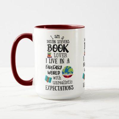 Dustin Stevens Book Lover Mug