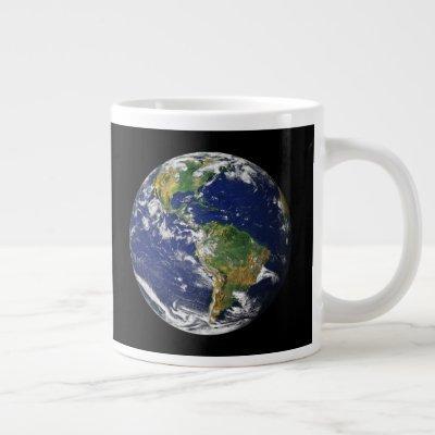 EARTH FROM SPACE Custom 20oz Giant Mug
