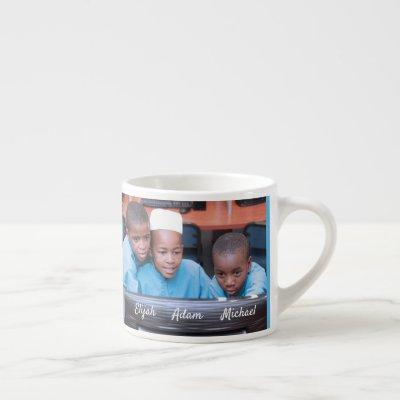 Easily Create Your Personalized Custom Photo Espresso Cup