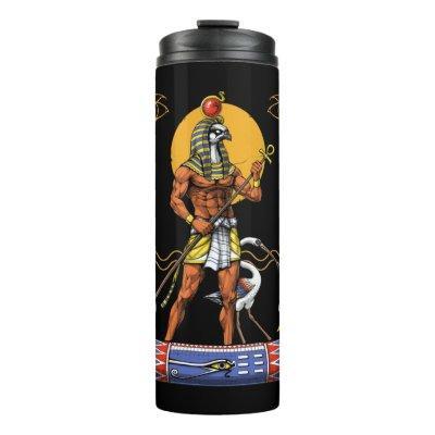 Egyptian God Ra Thermal Tumbler