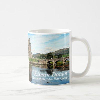 Eilean Donan – MacKenzie/MacRae Clans Coffee Mug