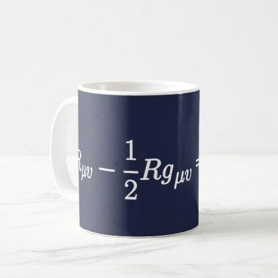 Einstein's Field Equation Science Mathematical Mug