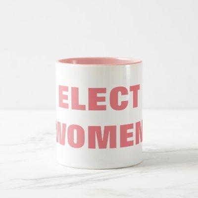ELECT WOMEN Two-Tone COFFEE MUG
