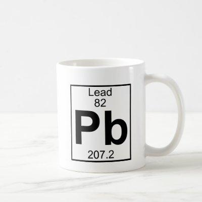 Element 082 - Pb - Lead (Full) Coffee Mug