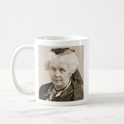 Elizabeth Cady Stanton - Feminist Coffee Mug