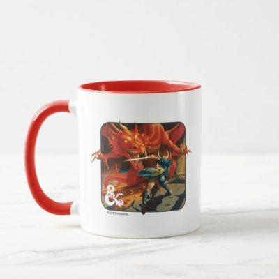 Elmore Vintage Red Box Art Mug