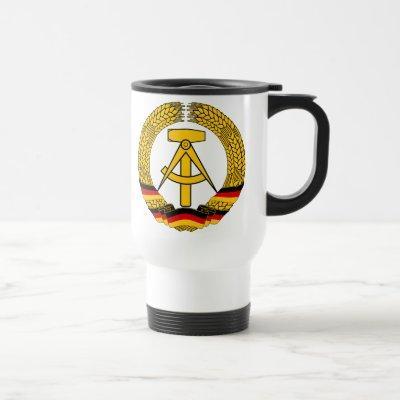 Emblem der DDR - National Emblem of the GDR Travel Mug