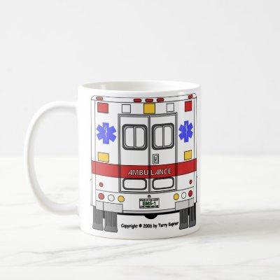 Emergency Medical Services Ambulance (EMS) - Mugs