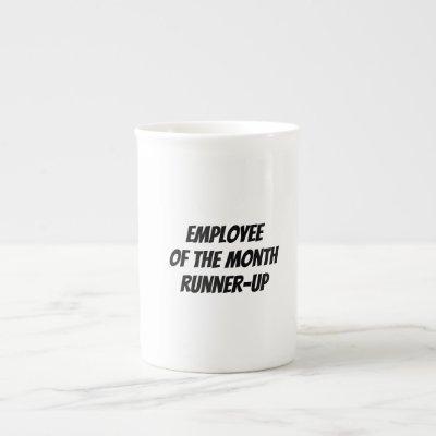 Employee Of The Month Runner-Up Mug Tea/Coffee