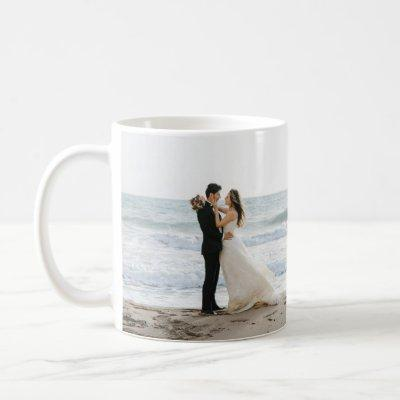 Enchanting Romantic Wedding Day Photo Mug