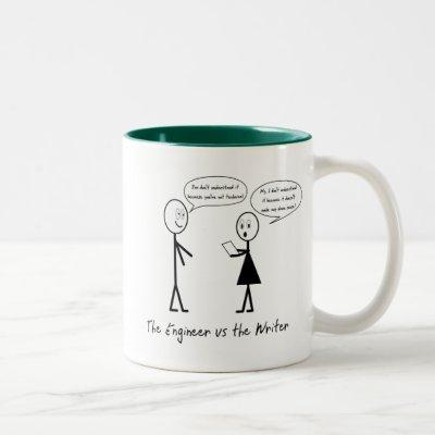 Engineers and Writers Mug