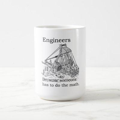 Engineers Trebuchet Mug