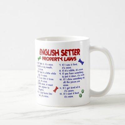 ENGLISH SETTER PL2 COFFEE MUG