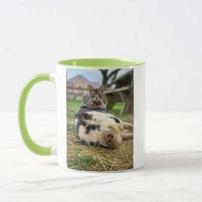 Ernest & Sassy Photo Mug with Logo!