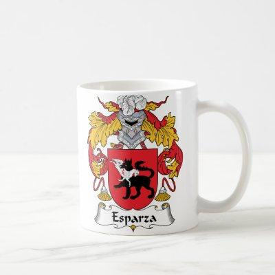 Esparza Family Crest Coffee Mug