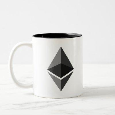 Ethereum for Eternity Two-Tone Coffee Mug