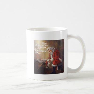 Every Knee Shall Bow Coffee Mug