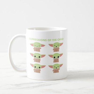 Expressions of The Child Illustrated Chart Coffee Mug