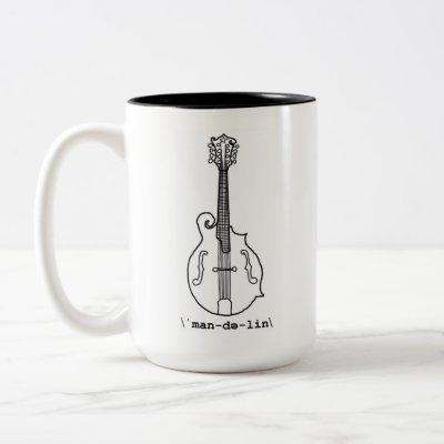 F-Style Mandolin Mug